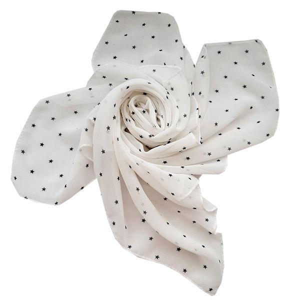 روسری دخترانه مدل تتیس طرح ستاره