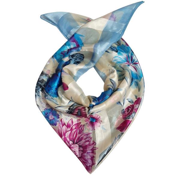 روسری دخترانه مدل لیزری جند رنگ