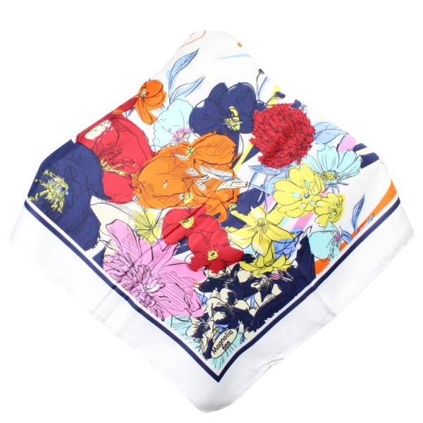 روسری دخترانه مگنولیا طرح گل