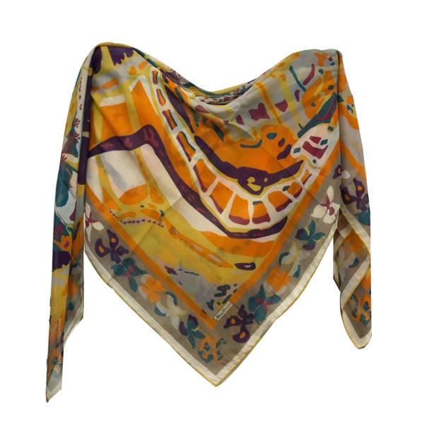 روسری زنانه نخی میس اسمارت کد 1341 مدل 02 تک سایز