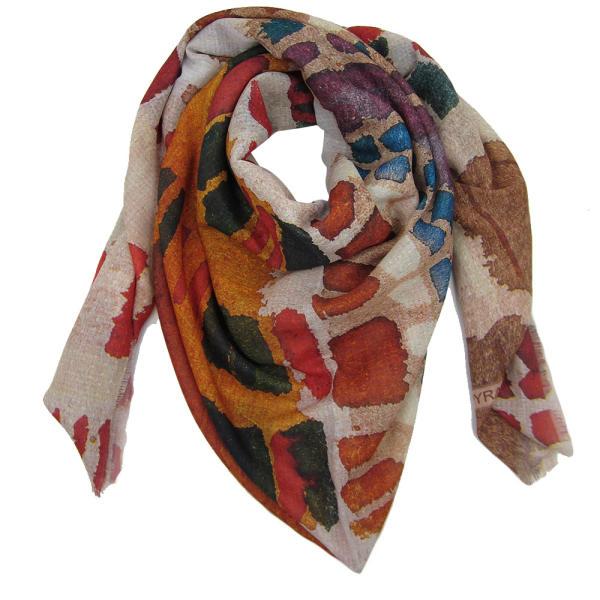 روسری زنانه نخی کد 08