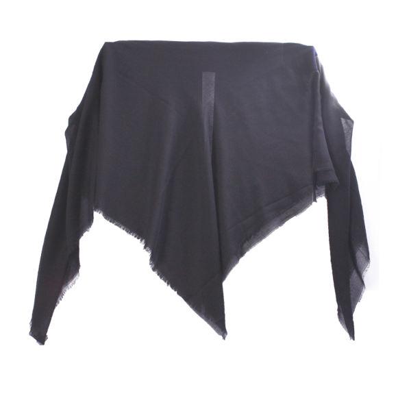 روسری نخی زنانه برند آیسا مدل TP1-Black رنگ مشکی