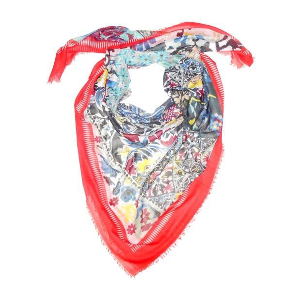 روسری نخی طرح 40 تیکه کد 104