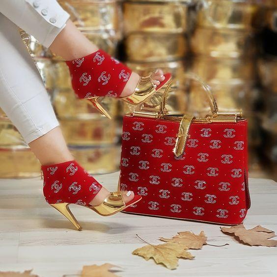 ست کیف و کفش زنانه برند