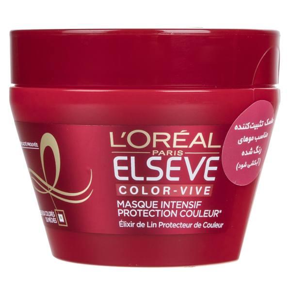 ماسک موی رنگ شده لورآل Elseve مدل Color Vive حجم 300 میلی لیتر