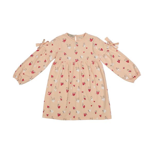 پیراهن دخترانه پیانو مدل 01214-21