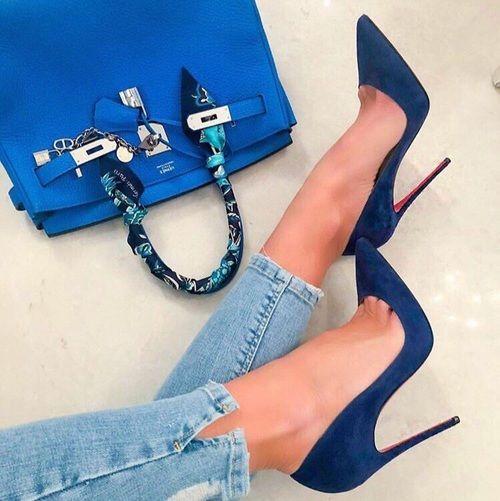 کیف و کفش پاشنه دار زنانه شیک