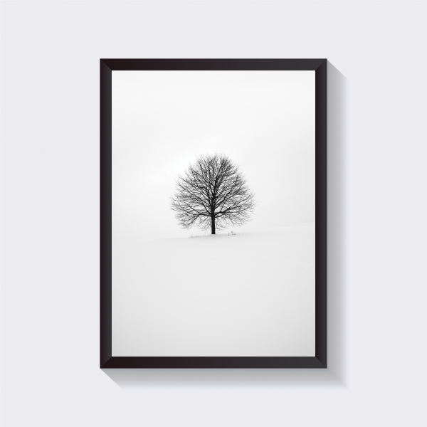 تابلو طرح تک درخت مدل Feee-IR101