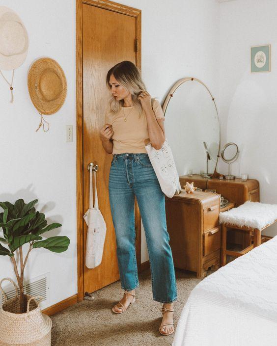 شلوار جین سایه دار زنانه