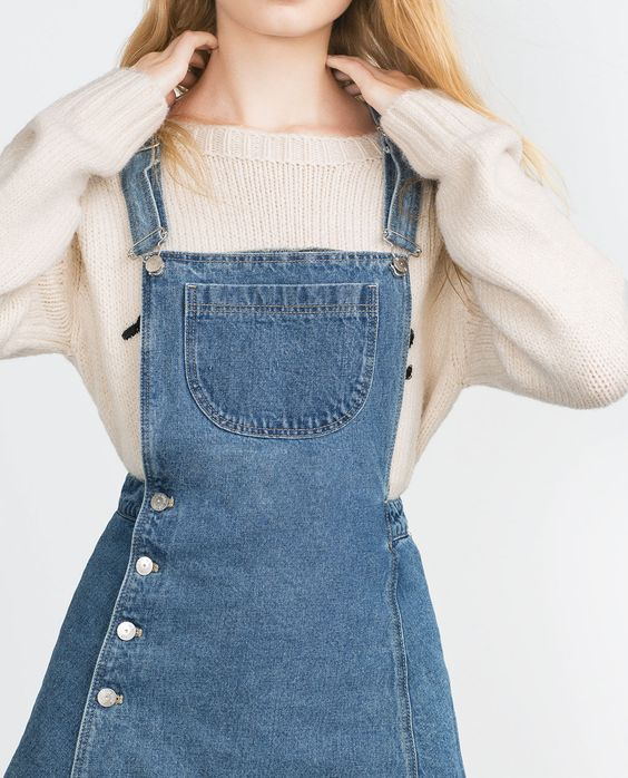 لباس جین آبی روشن دخترانه
