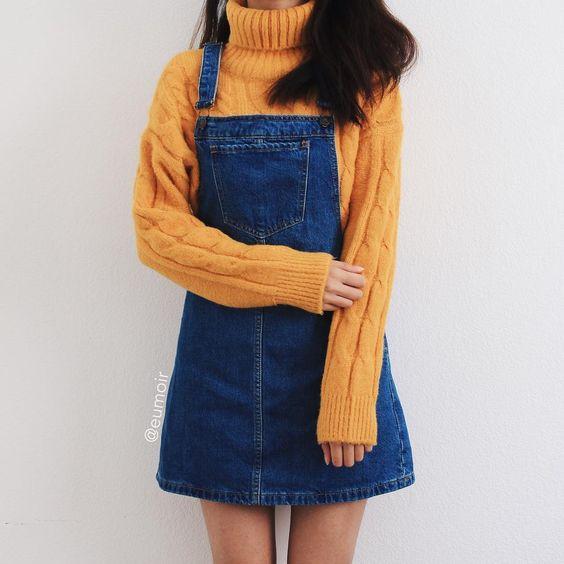 لباس جین دخترانه سارافونی