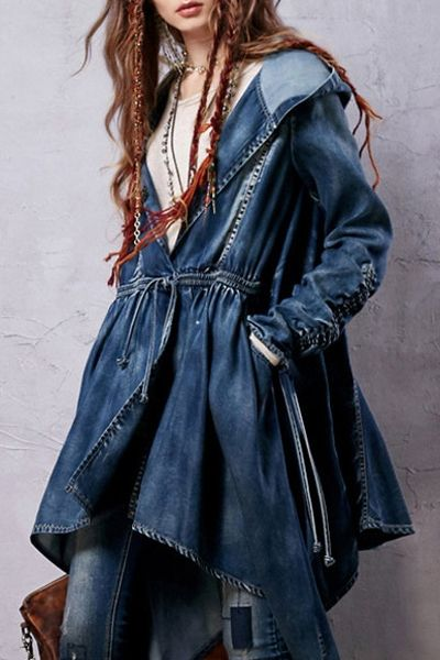 لباس جین دخترانه فشن