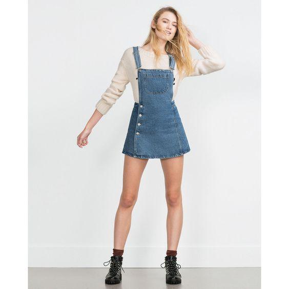لباس ساده جین دخترانه