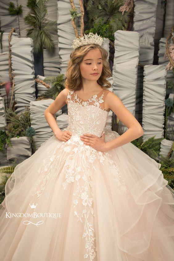 لباس عروس بچه گانه شیک