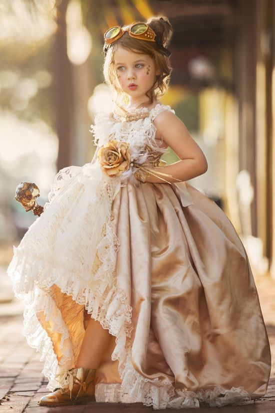لباس عروس بچه گانه کلاسیک
