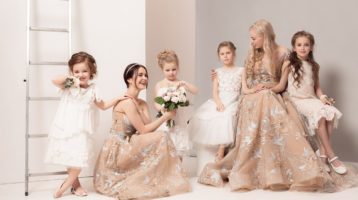لباس-عروس-بچه-گانه