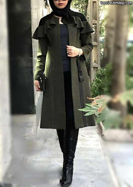 مدل مانتو رسمی دخترانه