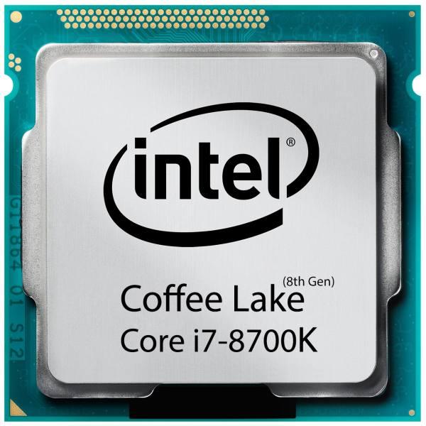 پردازنده مرکزی اینتل سری Coffee Lake مدل Core i7-8700K