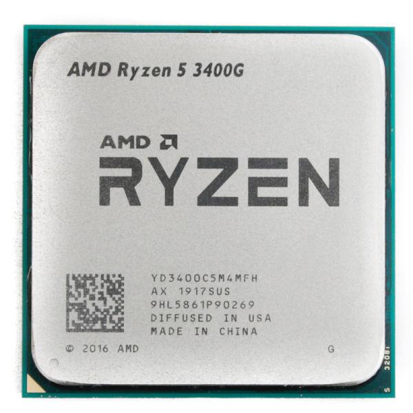 پردازنده مرکزی ای ام دی مدل Ryzen 5 3400G