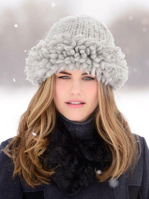 کلاه بافتنی دخترانه خاص