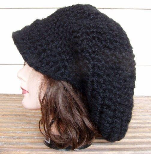 کلاه لبه دار مشکی