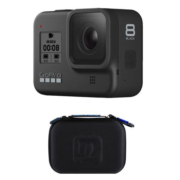 دوربین فیلم برداری ورزشی گوپرو مدل HERO8 Black به همراه کیف