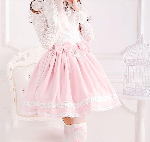 لباس عروسکی با دامن کوتاه