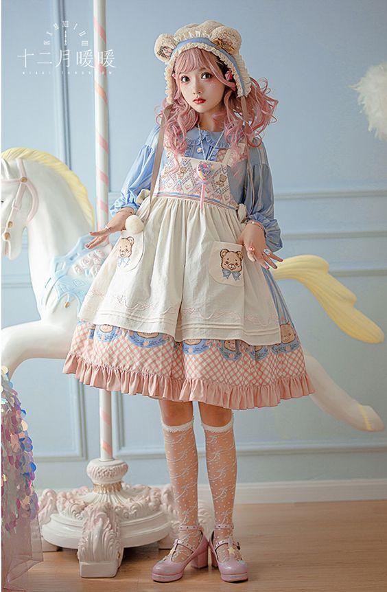 لباس عروسکی بچه گانه کوتاه