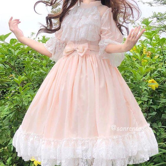 لباس عروسکی تور دار