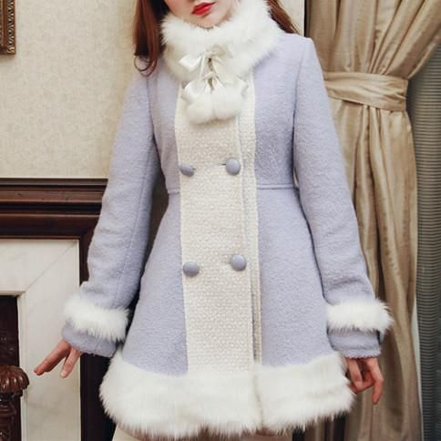 لباس عروسکی زمستانی