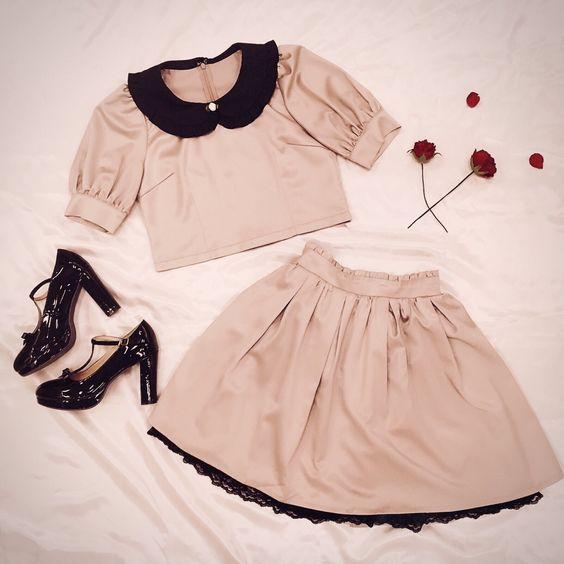 لباس عروسکی ساده