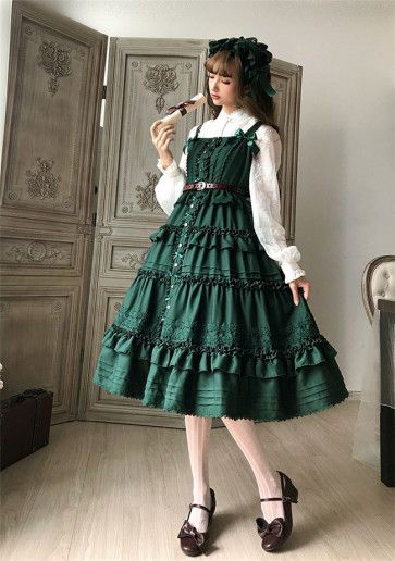 لباس عروسکی سبز