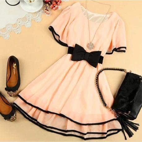 لباس عروسکی شیک دخترانه