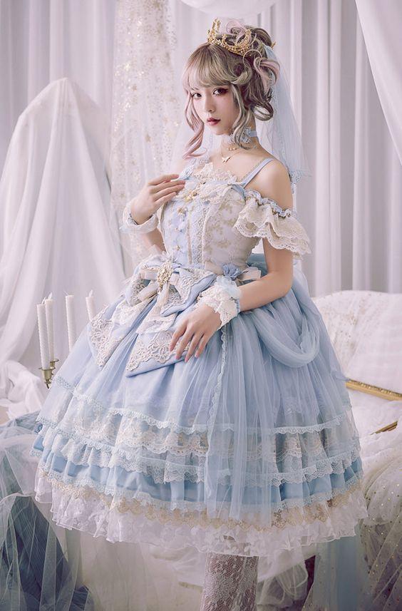 لباس عروسکی مهمانی
