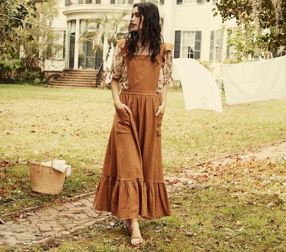 مدل سارافون دخترانه جیب دار