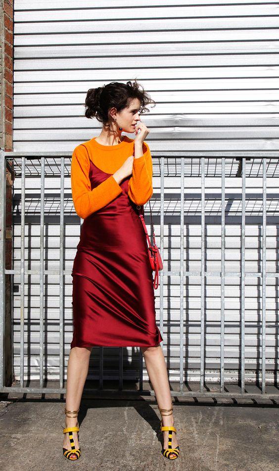 مدل سارافون دخترانه قرمز