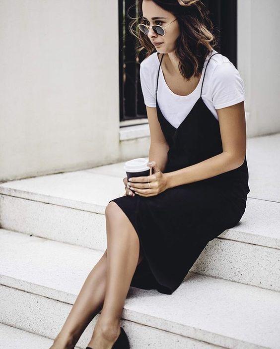 مدل سارافون دخترانه مشکی