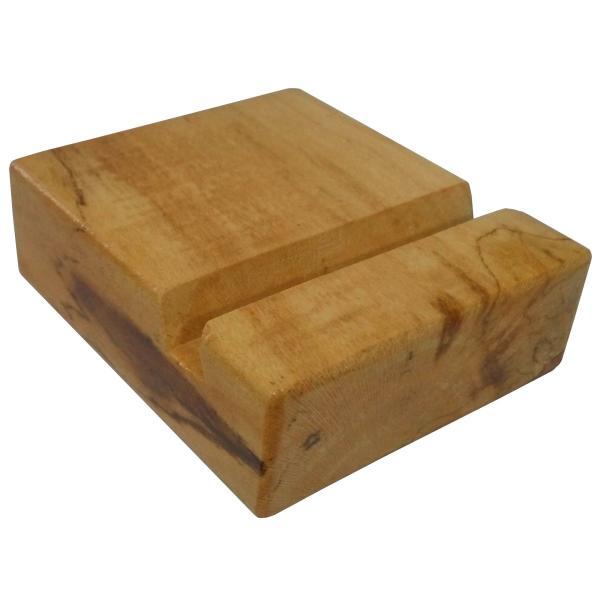 پایه نگهدارنده گوشی موبایل استند تبلت چوبی چوبیس