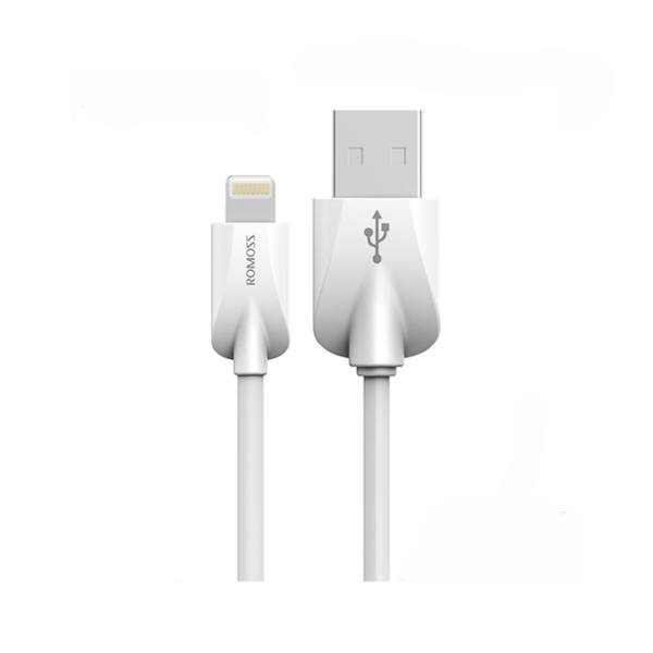 کابل تبدیل USB به lightning روموس مدل CB12V