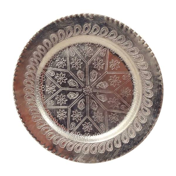 بشقاب پلوخوری مسی مدل 1450