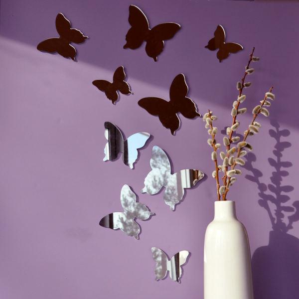 آینه پدیده شاپ مدل پروانه بسته 9 عددی