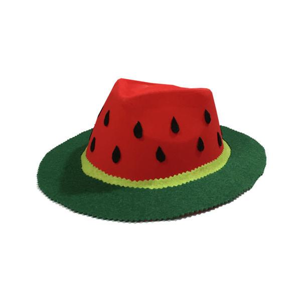 کلاه سورتک طرح هندوانه شب یلدا