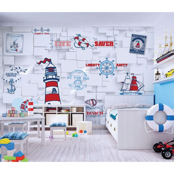 پوستر دیواری اتاق کودک طرح ملوانی