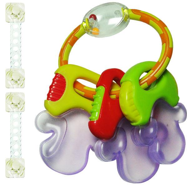 دندان گیر و جغجغه مدل Toys Word