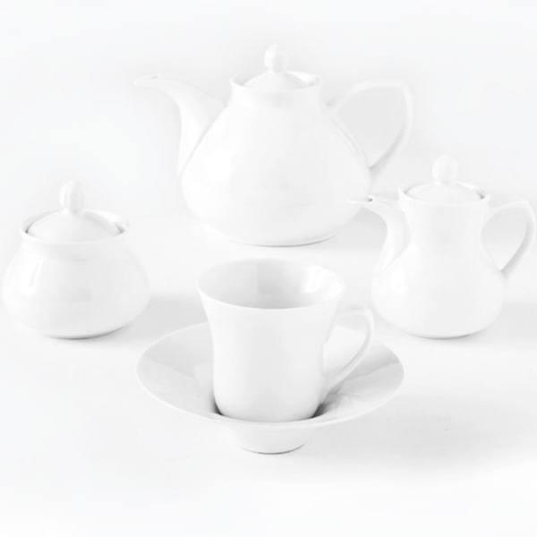 سرویس چینی 18 پارچه چای خوری چینی زرین ایران سری شهرزاد