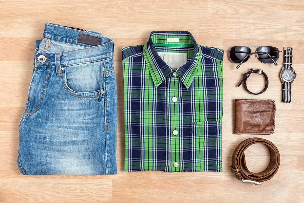 خرید لباس چهارخانه مردانه