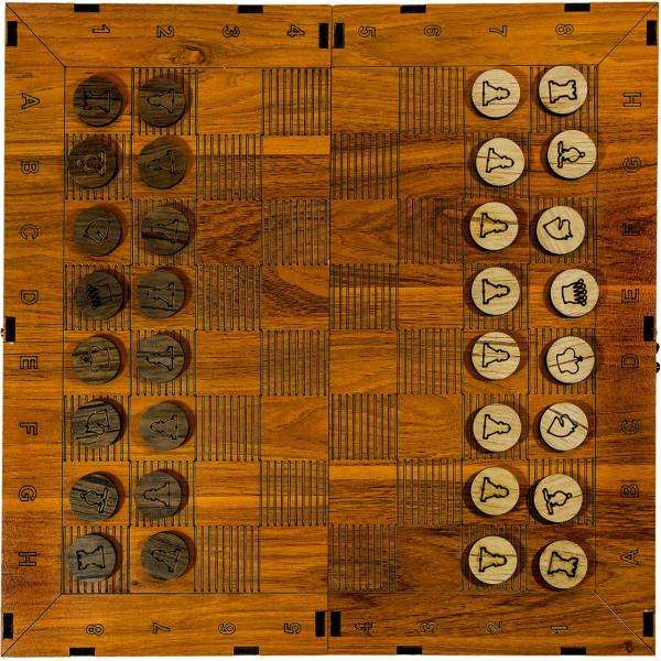 شطرنج سفری چوبی