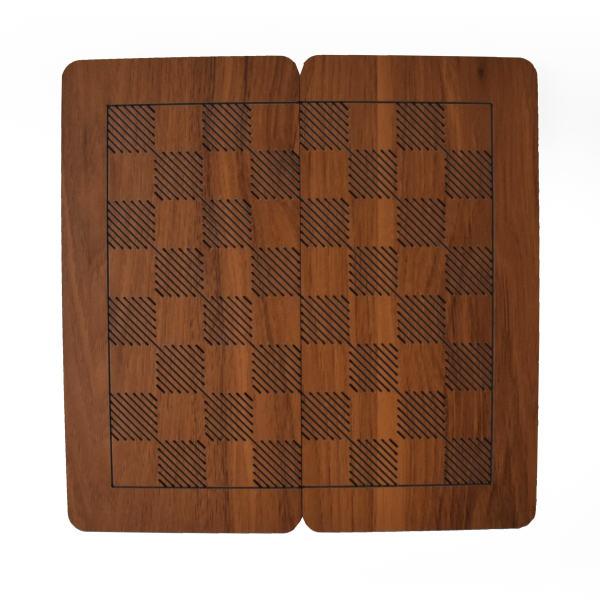 صفحه شطرنج مدل R2 چوبی