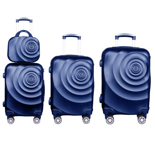 مجموعه چهار عددی چمدان خانواده مسافرتی