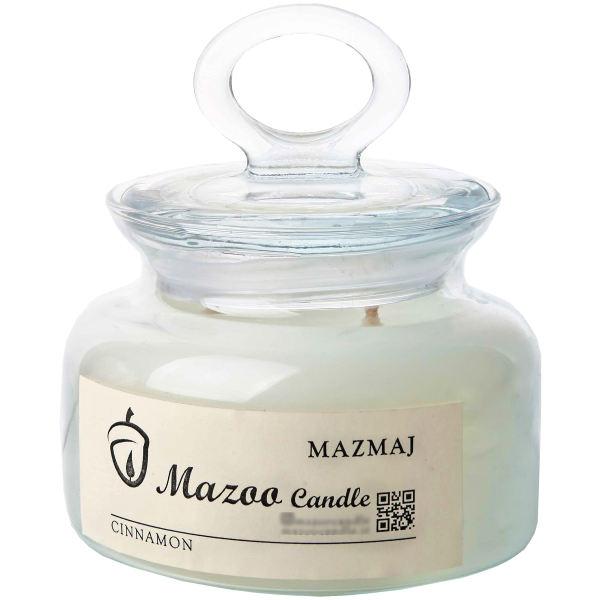 شمع با رایحه دارچین مازو مدل مازمج